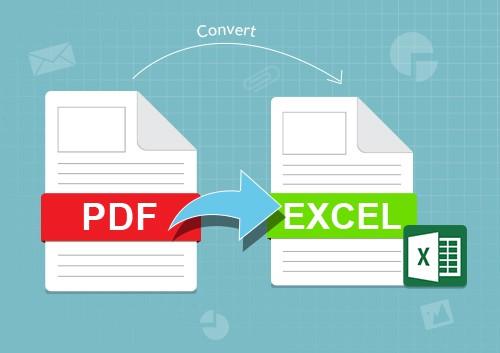 تحويل PDf اي excel مجانا تحويل ال PDF الي اكسل مجانا