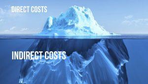 التكاليف الغير مباشرة , indirect costs , مشاكل التكاليف الغير مباشرة