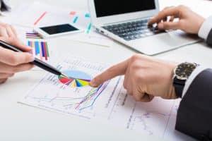 تمارين وامثلة عملية محلولة على الدورة المحاسبية