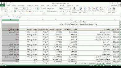 Photo of مثال علي القوائم المالية وتبسيط القوائم المالية pdf