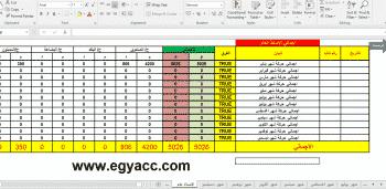 Photo of شيت اكسل حسابات [كامل] بالمعادلات والترحيل 2019