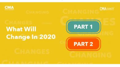 Photo of التعديلات الجديدة في شهادة [ كورس CMA عام 2020 ]