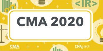 كورس CMA تعديلات 2020